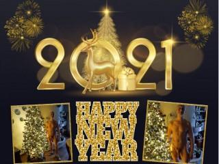 Nieuw jaars Kaart 2021